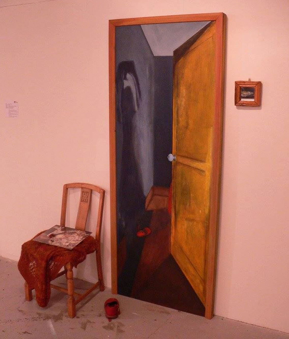 agnieska siwonia eco aga design exhibition painting