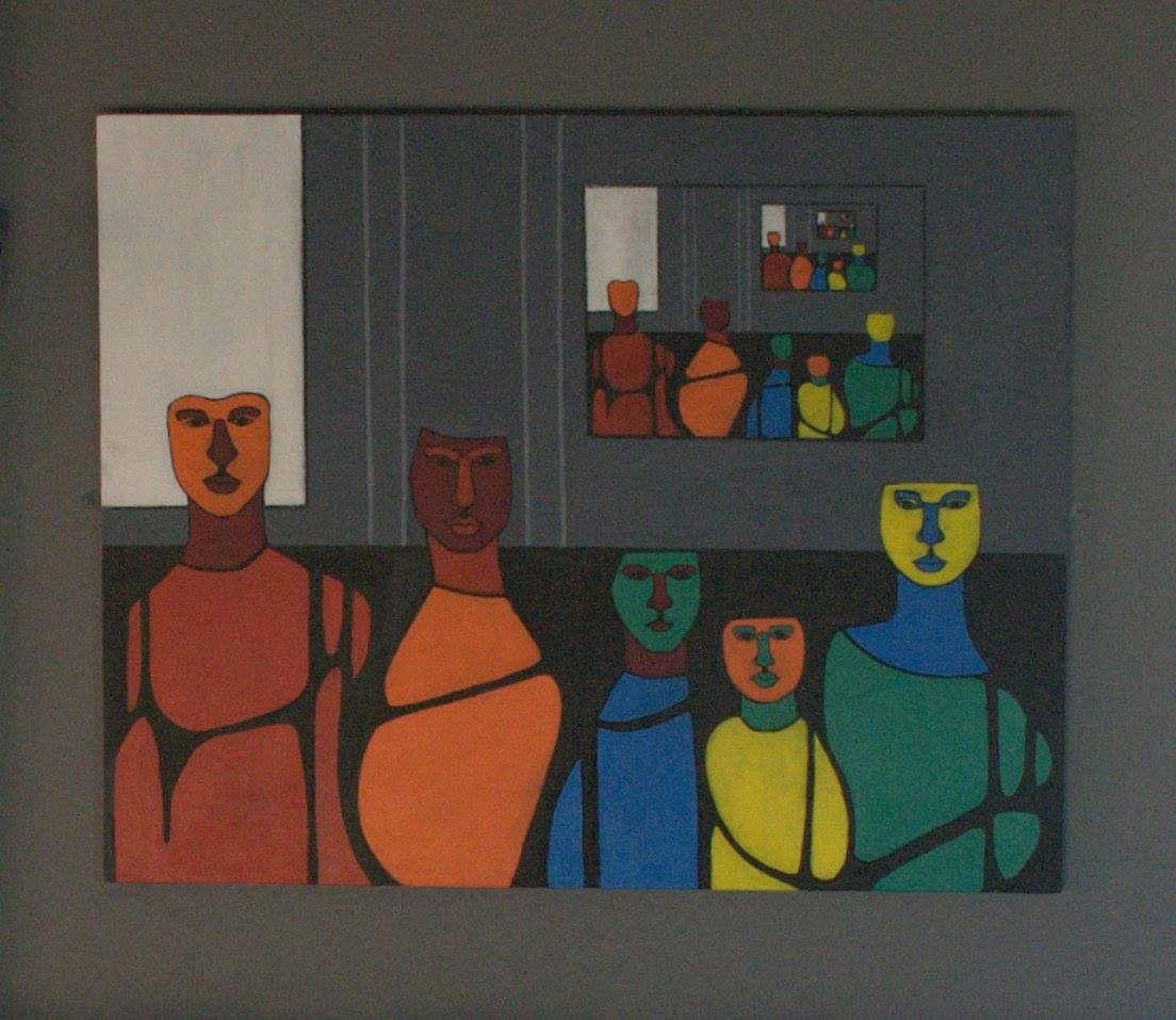 agnieska siwonia painting of family